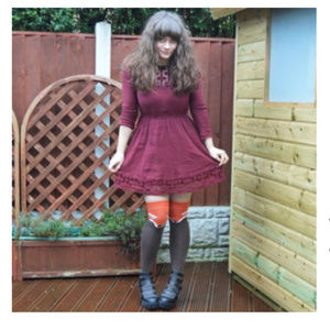 71b9673966d9b Modcloth Accessories | Fur The Win Thigh Highs In Brown Fox | Poshmark